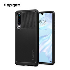 SPIGEN เคส Huawei P30 Rugged Armor : Matte Black