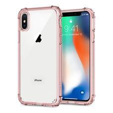 เคส iPhone X SPIGEN Crystal Shell - Rose Crystal