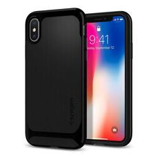 เคส iPhone X SPIGEN Neo Hybrid - Shiny Black