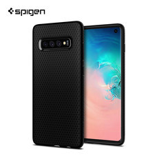 SPIGEN เคส Samsung Galaxy S10 Case Liquid Air : Matte Black
