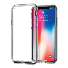 เคส iPhone X SPIGEN Case Neo Hybrid EX - Chrome Grey
