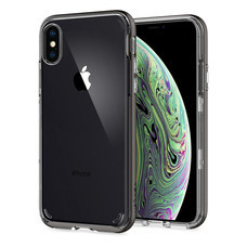 SPIGEN เคส Apple iPhone XR Case Neo Hybrid Crystal : Gunmetal