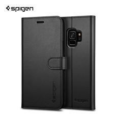 เคส Samsung Galaxy S9 SPIGEN Case Wallet S - Black