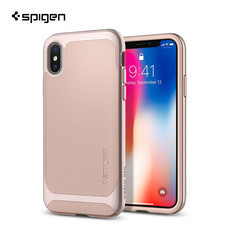 เคส iPhone X SPIGEN Neo Hybrid : Pale Dogwood