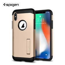 เคส iPhone X SPIGEN Slim Armor - Champagne Gold