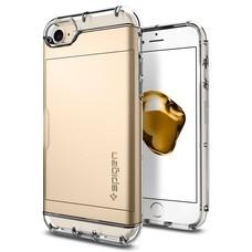 SPIGEN Case Apple iPhone 7 Case Crystal Wallet - Champagne Gold