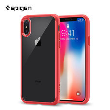 เคส iPhone X SPIGEN Ultra Hybrid - Red