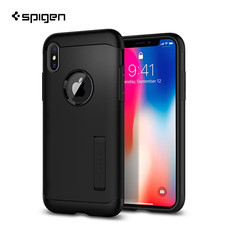 เคส iPhone X SPIGEN Slim Armor - Black