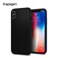 เคส iPhone X SPIGEN Case Liquid Air - Matte Black