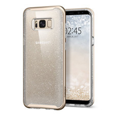 เคส Samsung Galaxy S8 Plus SPIGEN Case Neo Hybrid Crystal Glitter - Gold Quartz