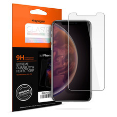 SPIGEN ฟิล์มกระจก iPhone XS Screen Protector GLAS.tR SLIM HD