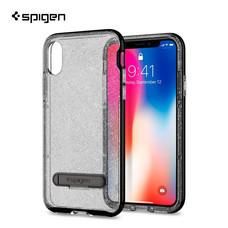 เคส iPhone X SPIGEN Crystal Hybrid Glitter - Space Quartz