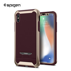 เคส iPhone X SPIGEN Case Reventon - Metallic Gold