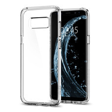 เคส Samsung Galaxy S8 Plus SPIGEN Case Ultra Hybrid - Crystal Clear