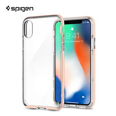 เคส iPhone X SPIGEN Case Neo Hybrid Crystal - Blush Gold