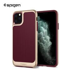 Spigen เคส iPhone 11 Pro Max [NEO HYBRID] เคสกันกระแทก, เคสซิลิโคน - Burgundy
