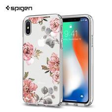 เคส iPhone X SPIGEN Case Liquid Crystal Aquarelle - Rose