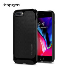 เคส iPhone8/7 Plus SPIGEN Case Neo Hybrid Herringbone - Shiny Black