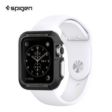 เคส Apple Watch Series 3/2/1 (38mm) SPIGEN Case Rugged Armor - Black