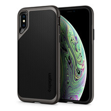 SPIGEN เคส Apple iPhnoe XR Case Neo Hybrid :  Gunmetal