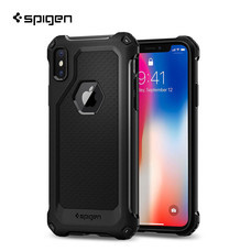 เคส iPhone X SPIGEN Rugged Armor Extra - Black