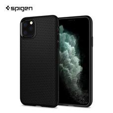 Spigen เคส iPhone 11 Pro [LIQUID AIR] เคสซิลิโคน, เคสบาง, เคสกันกระแทก - Matte Black