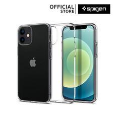 Spigen เคส iPhone 12 Mini LIQUID CRYSTAL (เคสไอโฟน 12 มินิ, เคสซิลิโคน, เคสบาง, เคสกันกระแทก, เคสใส) :Crystal Clear