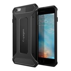 เคส iPhone 6s Plus , 6 Plus SPIGEN Case Rugged Capsule - Black