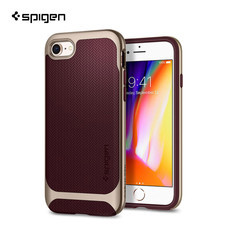 เคส iPhone8/7 SPIGEN Case Neo Hybrid Herringbon - Burgundy (Red)