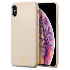 SPiGEN เคส Apple iPhone XS Case La Manon câlin : Pale Pink