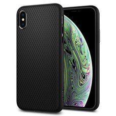 SPIGEN Case iPhone XS Case Liquid Air : Matte Black