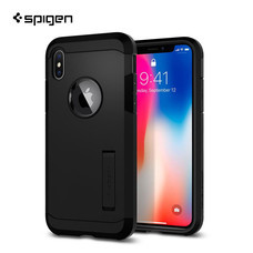 เคส iPhone X SPIGEN Tough Armor - Matte Black
