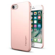 SPIGEN Case Apple iPhone 7 Case Thin Fit - Rose Gold