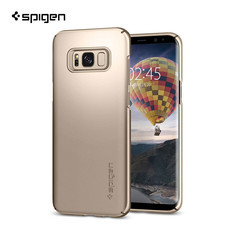 เคส Samsung Galaxy S8 SPIGEN Thin Fit - Gold Maple