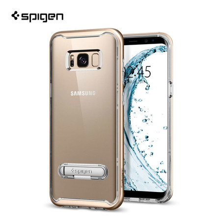 เคส SPIGEN Samsung Galaxy S8 Plus Crystal Hybrid - Gold Maple