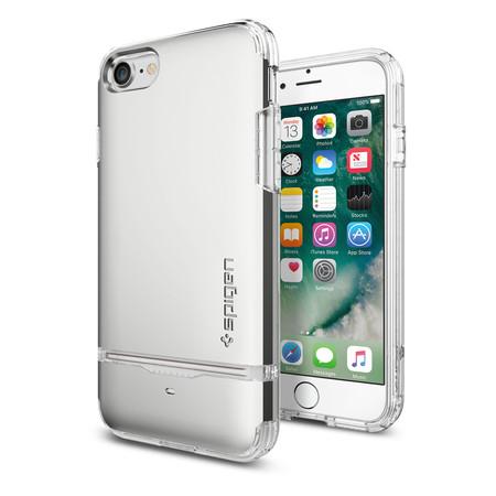 SPIGEN Case Apple iPhone 7 Case Flip Armor - Satin Silver