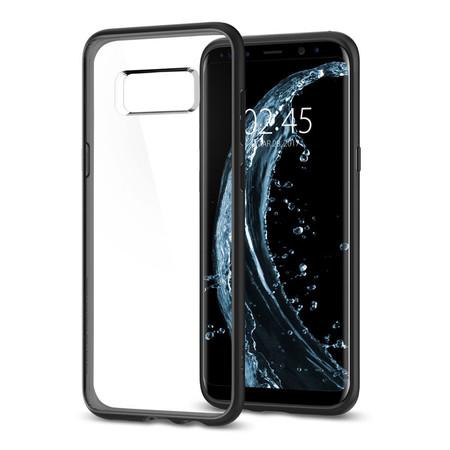 เคส Samsung Galaxy S8 Plus SPIGEN Case Ultra Hybrid - Matte Black