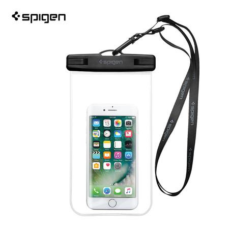 SPIGEN ซองกันน้ำมือถือ Velo A600 Universal Waterproof Phone Case : Clear