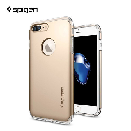เคส iPhone7 Plus SPIGEN Hybrid Armor - Champagne Gold