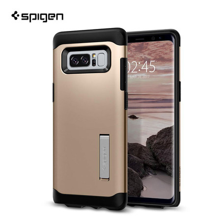 เคส Samsung Galaxy Note 8 SPIGEN Slim Armor - Champagne Gold