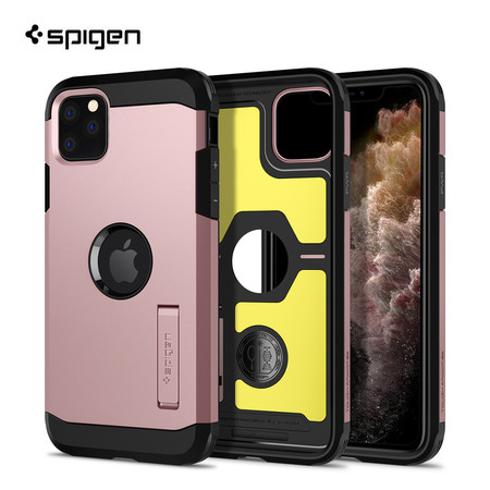 Spigen เคส iPhone 11 Pro TOUGH ARMOR (เคสกันกระแทก , เคสขาตั้ง)