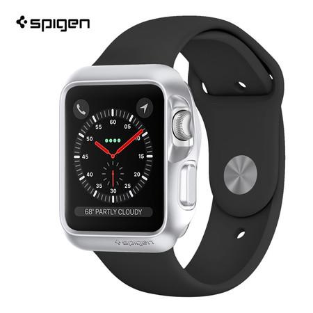 เคส Apple Watch Series 3/2/1 (42mm.) SPIGEN Case Slim Armor - Silver
