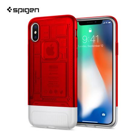 เคส iPhone X SPIGEN Case Limited Edition Classic C1 - Ruby (Red)