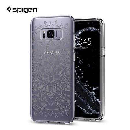 เคส Samsung Galaxy S8 SPIGEN Liquid Crystal - Shine Clear