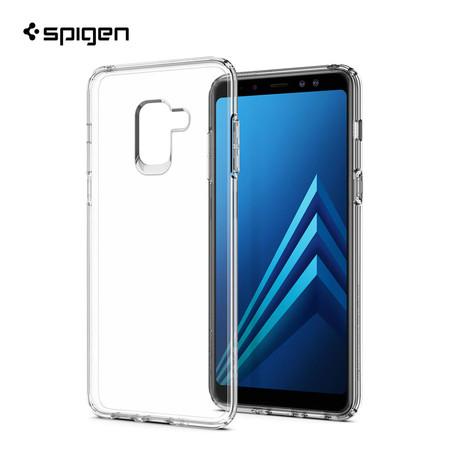 เคส Samsung Galaxy A8(2018) SPIGEN Liquid Crystal - Crystal Clear