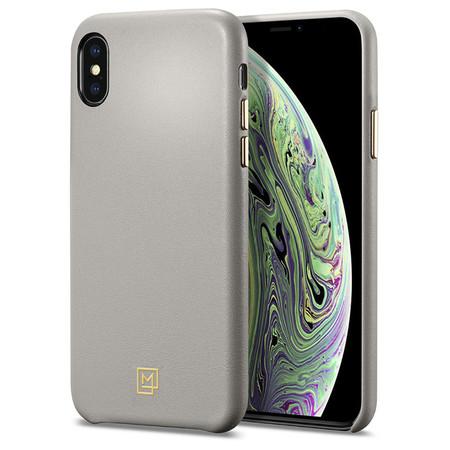 SPIGN เคส Apple iPhone XS Case La Manon Câlin : Oatmeal Beige