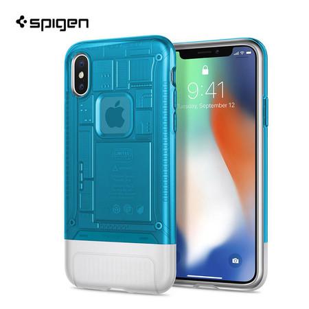 เคส iPhone X SPIGEN Case Limited Edition Classic C1 - Blueberry (Blue)