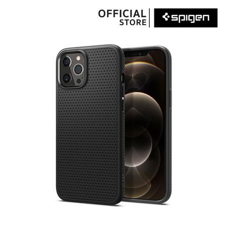 Spigen เคส iPhone 12 / 12 Pro LIQUID AIR (เคสไอโฟน 12 / 12 Pro, เคสซิลิโคน, เคสกันกระแทก) :