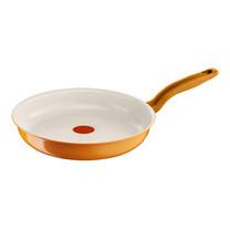 Tefal กระทะแบน 24 cm. Ceramic Colors Orange Frypan รุ่น C9050472