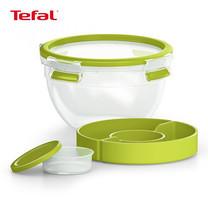 TEFAL กล่องถนอมอาหาร MasterSeal TO GO ความจุ 1 ลิตร - สีเขียว